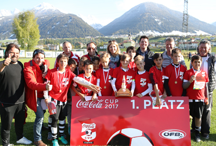 OBERPERFUSS,AUSTRIA,29.APR.17 - SOCCER - Coca Cola Cup, Landesfinale Tirol. Image shows . Photo: GEPA pictures/ Andreas Pranter